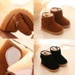 12-36Months Winter Baby Girl Child Style Cotton Boot Warm Wo