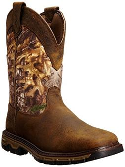 Ariat Mens Conquest Pull-on H2O Insulated Winter Boot, Ash B