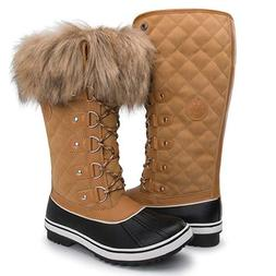 Kingshow Women's Globalwin 1707wheat Waterproof Winter Boots