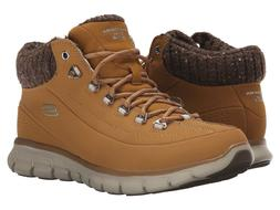 NEW Skechers Brown Synergy Winter Nights Women's Boots Size