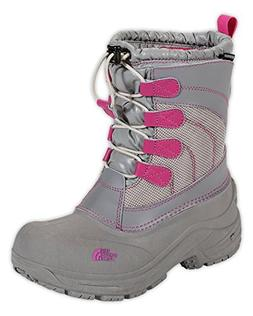 The North Face Boys Alpenglow Lace Boot Moonlight Ivory/Lumi