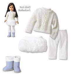 American Girl MY AG Soft-As-Snow Outfit for Dolls and Charm
