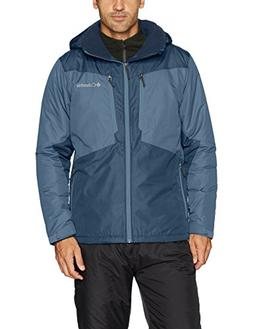 Columbia Men's Antimony IV Jacket, Dark Mountain, Collegiate