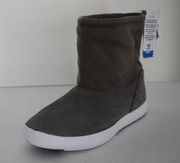Adidas Attitude Winter Boots Women's Suede Mid Fur Lined Gre