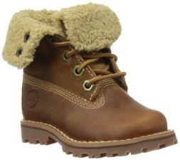 Timberland Authentics 6-Inch Shearling Fold Down Waterproof