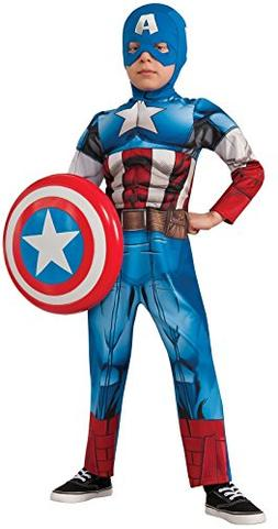 Rubies Costumes Boy's Avengers Assemble Deluxe Capt. America