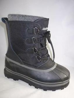NORTHSIDE Back Country Men's Snow Boots Black Waterproof Ins