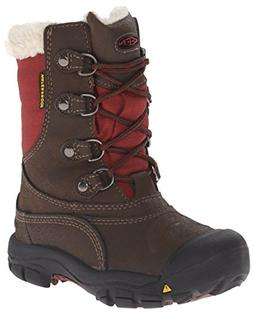 KEEN Basin WP Winter Boot , Cascade Brown/Madder Brown, 8 M