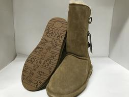 Bearpaw Lauren Youth Hickory Suede Boots Youth Size 5
