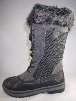 NORTHSIDE Bishop Dark Gray Women's Winter Boots Tall Insulat