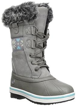 Northside Bishop JR Lace-Up Boot , Gray/Blue, 11 M US Little