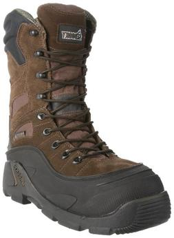 Rocky Men's Blizzard Stalker Pro Hunting Boot,Brown/Black,9