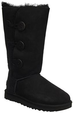 Women's Ugg 'Bailey Button Triplet Ii' Boot, Size 6 M - Blac