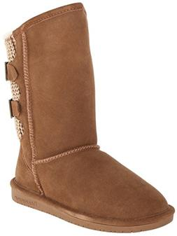 Bearpaw Women's Boshie Hickory Ankle-High Suede Boot - 5M