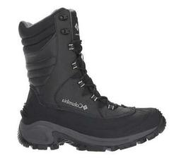 Columbia Bugaboot III Men's Black Winter Boots Insulated Sno
