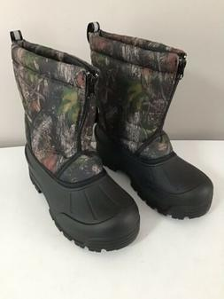 Northside Camo/Black Kids Winter Boots Size 6 New Without Bo