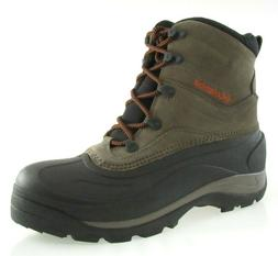 COLUMBIA CASCADIAN SUMMIT 2 MEN'S MUD/Black WINTER BOOTS #BM