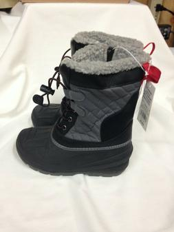 Cat & Jack Boys Size 1 Winter Snow Boots - Emory NWT