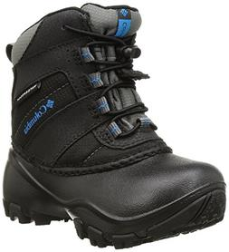 Columbia Childrens Rope Tow I WP Winter Boot , Black/Dark Co
