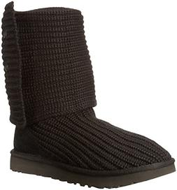 Women's Ugg Classic Cardy Ii Knit Boot, Size 10 M - Black