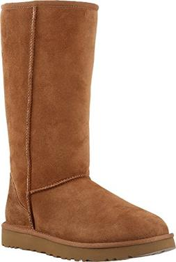 Ugg Women's Classic Tall II Leather Chestnut Mid-Calf Suede