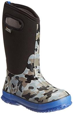 Bogs Camo Boot - Little Boys' Black, 8.0