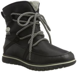 Sorel Womens Cozy Explorer Waterproof Winter Boot Black 7 M