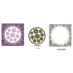 Cutting Dies - 1 Set Winter Snowflake Craft Cutting Dies Sta