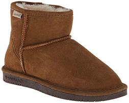 BEARPAW Women's Demi Winter Boot, Hickory/Choco, 7 M US