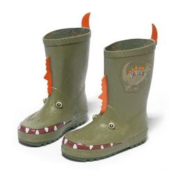Kidorable Dinosaur Rain Boot, Green,7