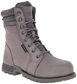 Caterpillar Women's Echo WP Steel Toe Work Boot, Frost Grey,
