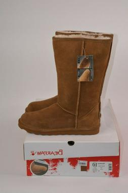 Bearpaw Elle Tall Shearling Lined Water Resistant Winter Boo