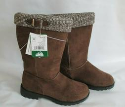 Itasca Emma Brown Micro Suede Winter Boots - Women's Size 9