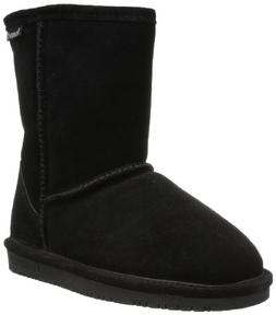 BEARPAW Emma 6.5 Inch Boot ,Black II,4 M US Big Kid