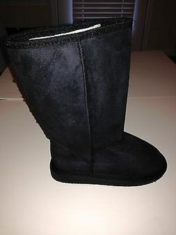 Fashion Mid-Calf Suede Type Fall and Winter Boots