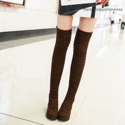 Fashion Women Over the Knee Boots Juniors Autumn Winter Boot