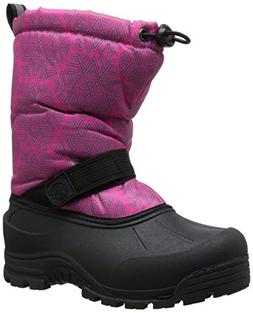 Northside Frosty Winter Boot ,Fuchsia/Silver,1 M US Little K