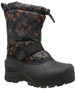 Northside Frosty Snow Boots, Gray/Orange,3
