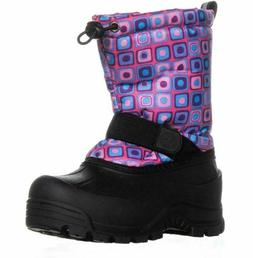 Northside Frosty Winter Boot ,Pink/Turquoise,11 M US Little