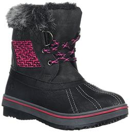 Northside Girls' BROOKELLE Fashion Boot, Black/Fuchsia, Size