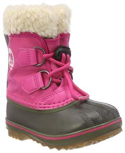 SOREL Girls' Children's Yoot Pac Nylon Snow Boot, Ultra Pink