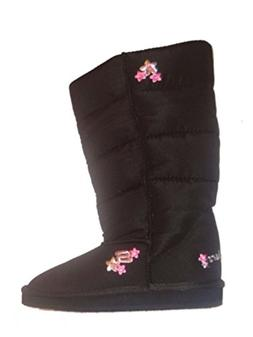 Skechers Girls Puffy Black Winter Boots 2