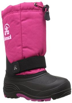 Kamik Girls' Rocket Snow Boot, Rose, 2 Medium US Little Kid