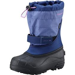 Columbia Girls' Toddler Powderbug Plus II Snow Boot, Eve, No