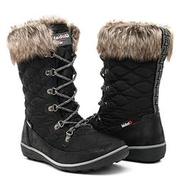 GLOBALWIN Women's 1731 Winter Waterproof Snow Boots  US Wome