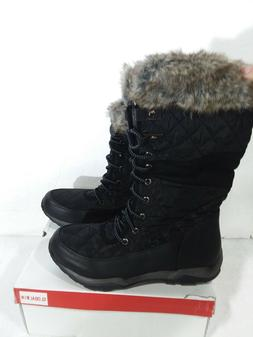 globalwin women s fashion snow boots black