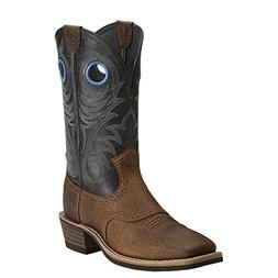 Ariat Men's Heritage Roughstock Western Cowboy Boot, Earth/V
