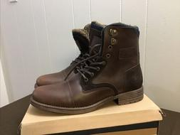 Globalwin High-Top Winter Combat Boots M1652-3 Size10.5 Brow