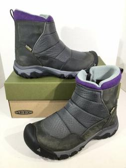 Keen Hoodoo III Low Zip Women's Size 7.5 Earl Grey/Purple