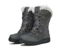 Columbia Ice Maiden II Waterproof Winter Boots - Color: Gray